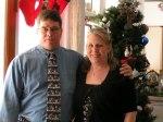 hubby and I at christmas