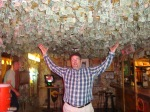 Steve under the money ceiling at greasewood flats