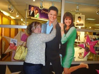 Me and my close personal friends Donny and Marie